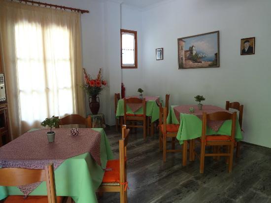 Pension Galini Ireon Village : Breakfast area