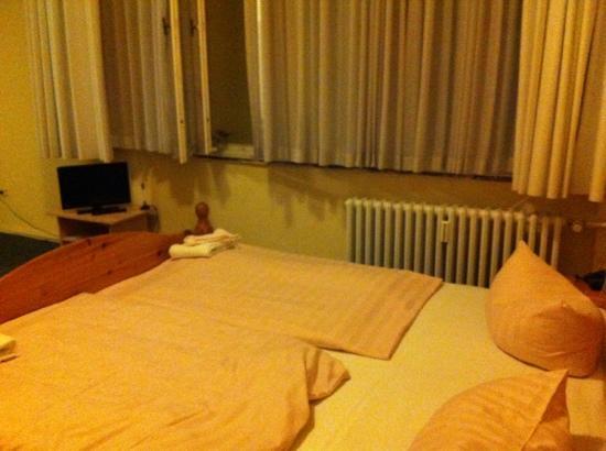 Berolina an der Gedächtniskirche: la camera al nostro arrivo
