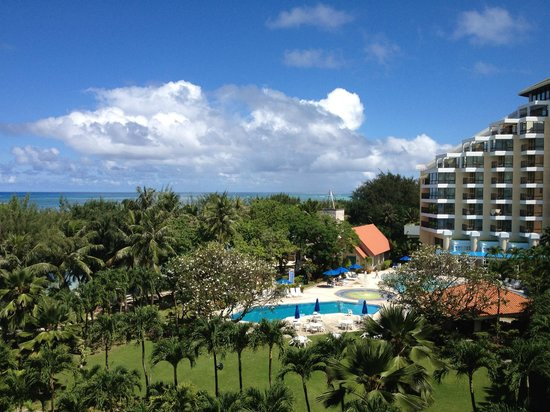 Garapan, Mariana Islands: 部屋からの眺め