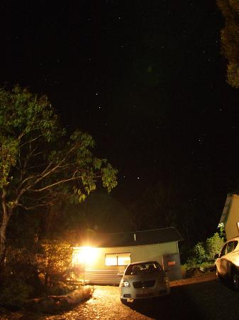 Cradle Mountain Wilderness Village: Stars all over the sky