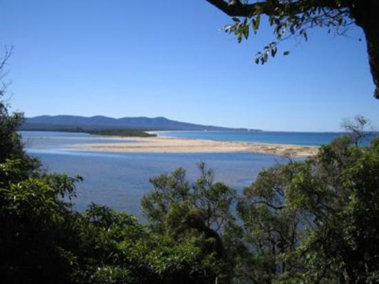 Gowings of Mallacoota: View to the Howe Ranges