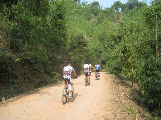 Muchuan County, Cina: biking