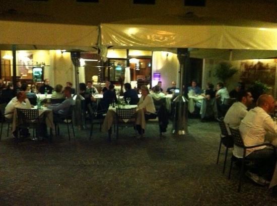 Osteria La Contrada: Dejlig aften