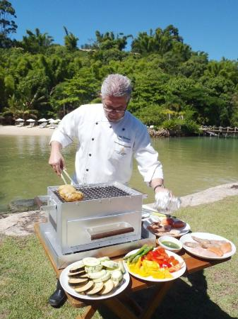 Ponta dos Ganchos Exclusive Resort : Chef