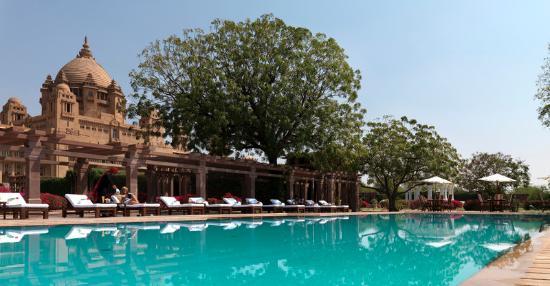 Umaid Bhawan Palace Jodhpur: Outdoor Pool