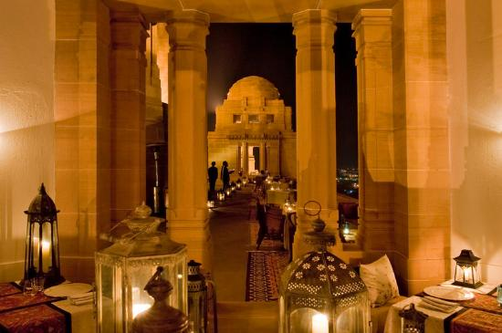 Umaid Bhawan Palace Jodhpur: Sunset Pavillion