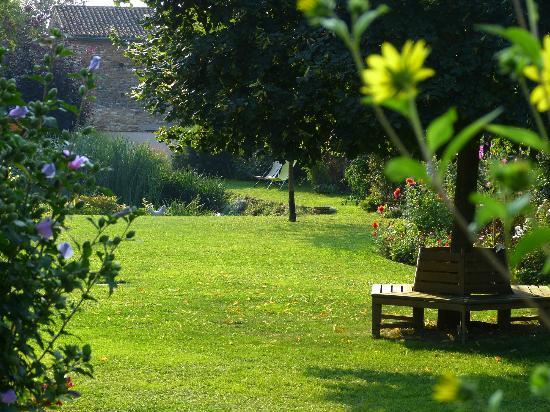En Germolles: jardin