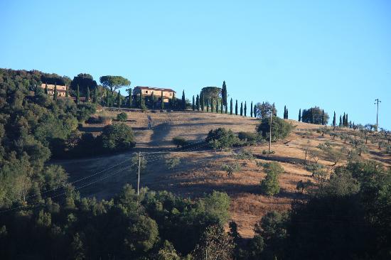 Casavacanze Podere Cascatelle & Agriletizia: Blick in die Umgebung