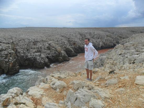 Globales Cala'n Blanes: cambio colore acqua punta nati
