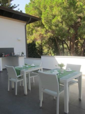 B&B Mondello Resort: The terrace