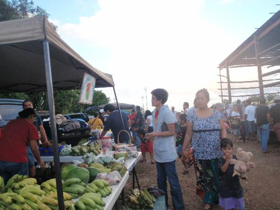 Morning market Dededo : デデドの朝市