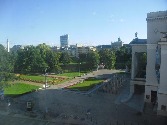 Grand Hotel Kempinski Riga: View from our room