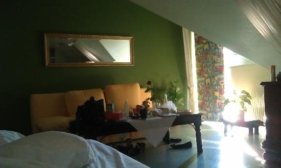Hotel Ziegelruh: Zimmer, Sofaecke