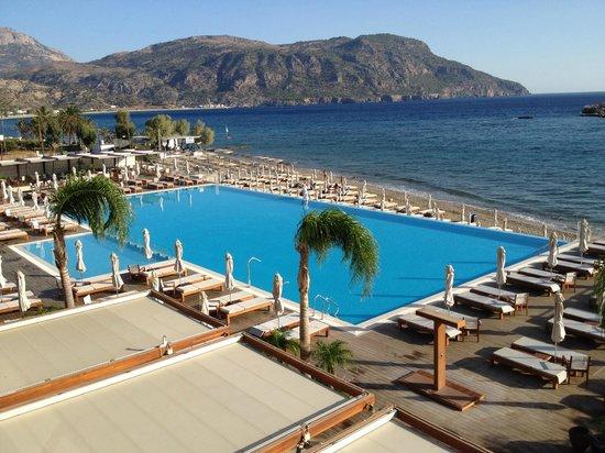 Alimounda Mare: Poolområde 18x37m