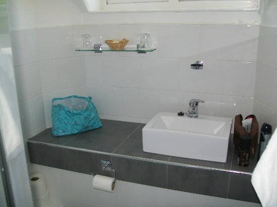 Waterhead Hotel: Sink in shower room