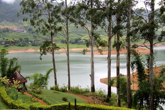 Ceylon Tea Trails: view from bungalow