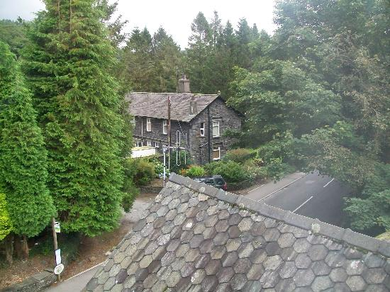 Waterhead Hotel: View from our room to the right