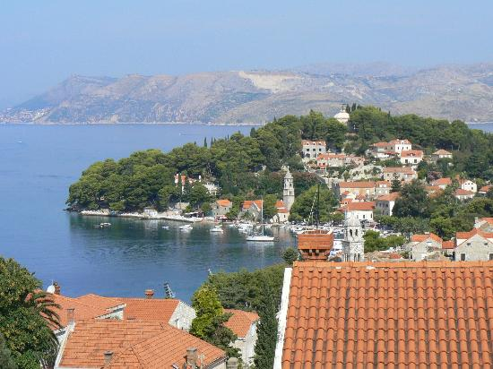 Villa Radovic: Вид с нашего балкона
