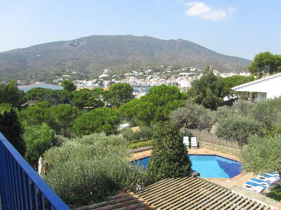 Hotel Blaumar Cadaqués: View from our balcony