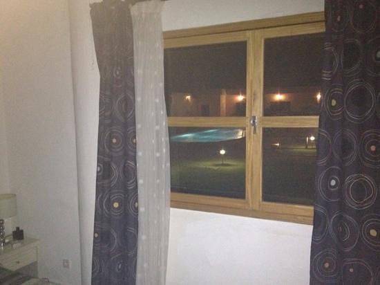 Hotel La Coccinelle: vue chambre sur piscine
