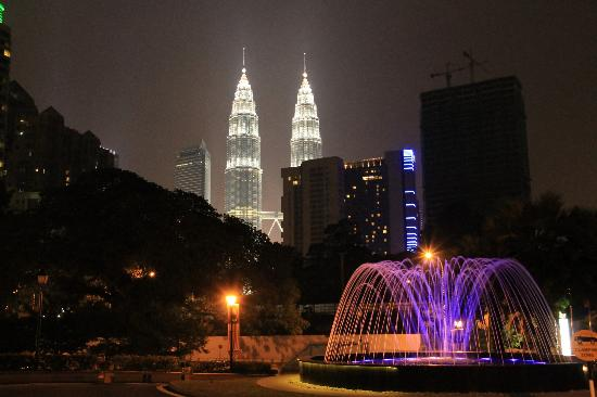 The Royale Chulan Kuala Lumpur: view from the hotel