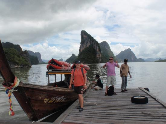 Khao Lak Land Discovery - Day Tours: Our boat - better than a speed boat or long boat.