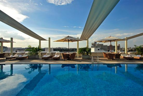Taj Club House: Pool View