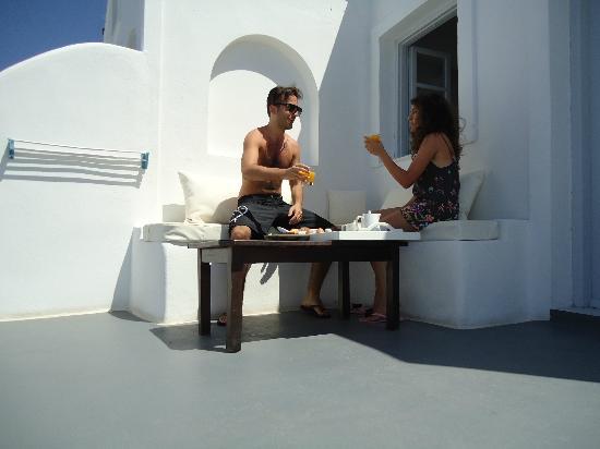 Hotel Sunny Villas: colazione servita in camera!!