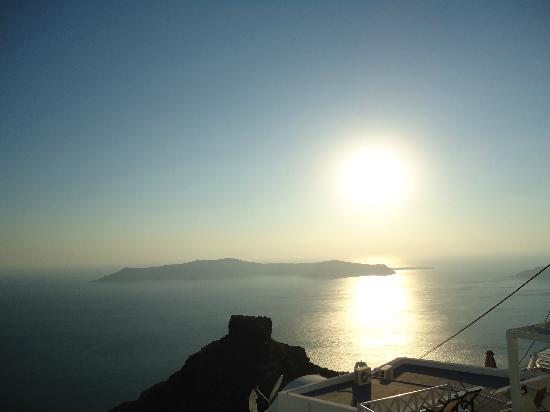 Hotel Sunny Villas: vista dal mio terrazzo!!! stupenda...