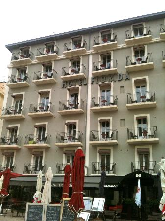 Hotel Florida Biarritz : Front View of Hotel Florida