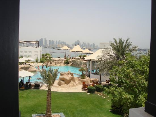 Sharq Village & Spa: View from room of the Doha Corniche