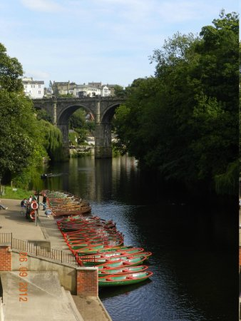 Knaresborough, UK: view from the bridge
