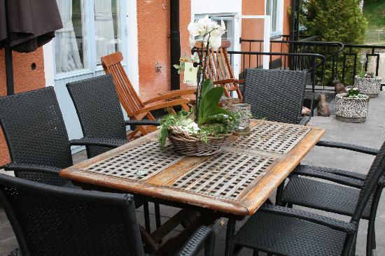 Hotell Gillet: Terrace
