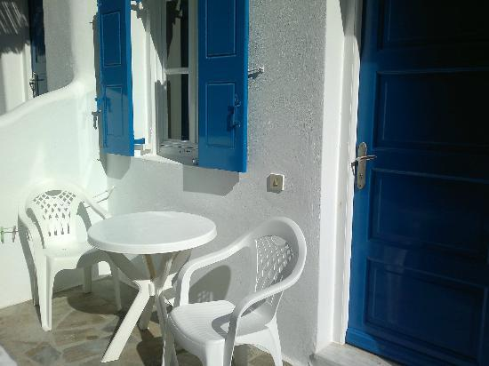 Anemos Apartments & Studios: Our terrace