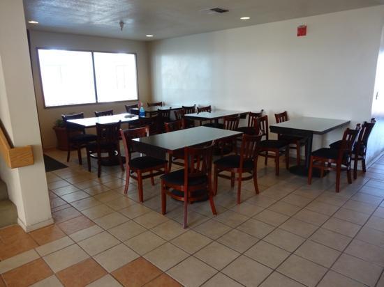 Days Inn Holbrook: Frühstücksraum