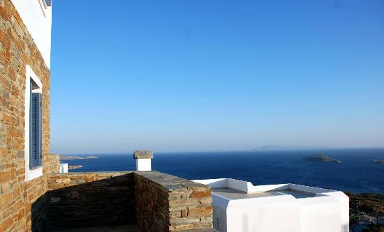 Andros Prive Suites : sea views