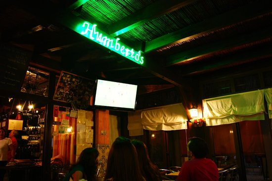 Humberto's  Restaurante: внутри ресторана