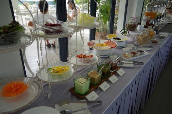 Devasom Hua Hin Resort: breakfast