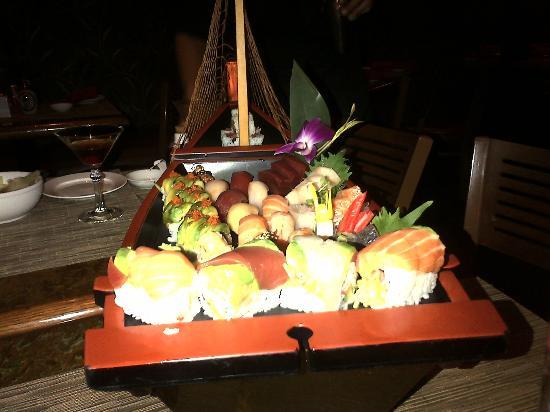Arirang Hibachi Steakhouse & Sushi Bar: The back of the Staten Island Ferry