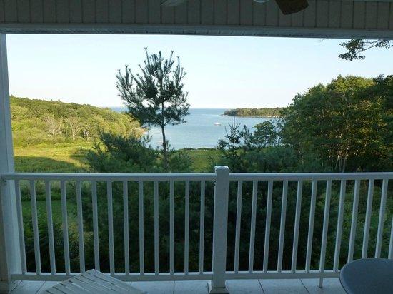 Island View Inn: La vue depuis le balcon