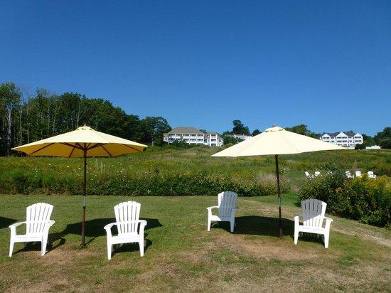 Island View Inn: Vue de l'hôtel depuis l'océan