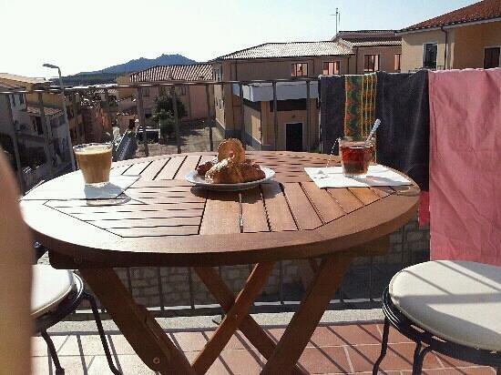 B&B La Fonda: colazione in terrazzo!!