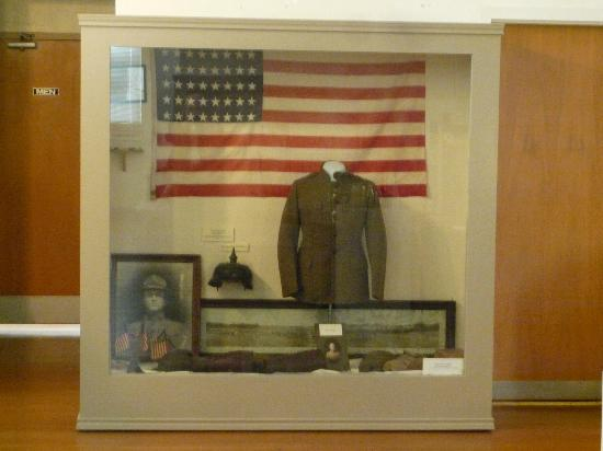Brenham Heritage Museum: Military Exhibit