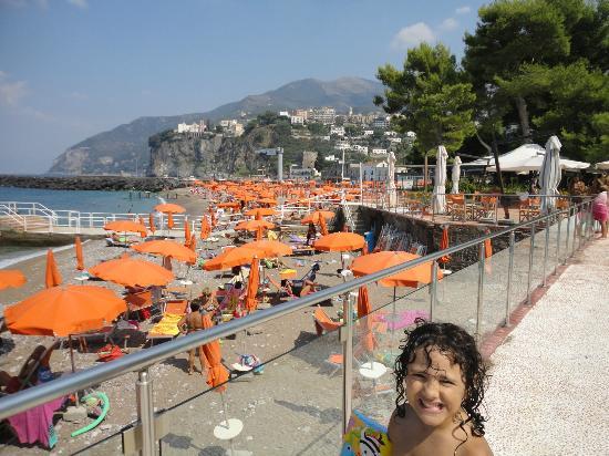 Resort Le Axidie: la spiaggia