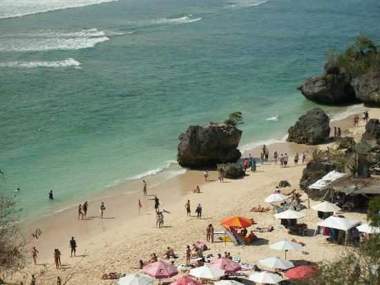 Padang Padang Beach: ombak ombak ombak