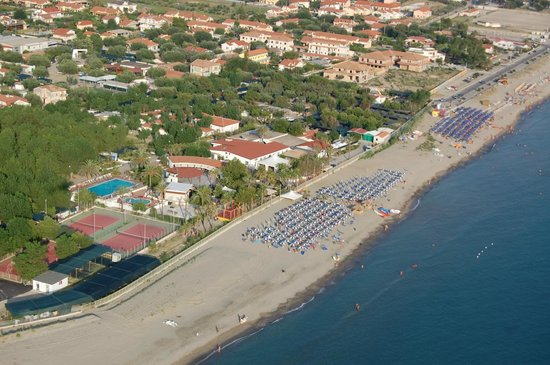 Villaggio le Palme: foto aerea