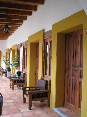 Hotel Casa Margarita: Corridoio
