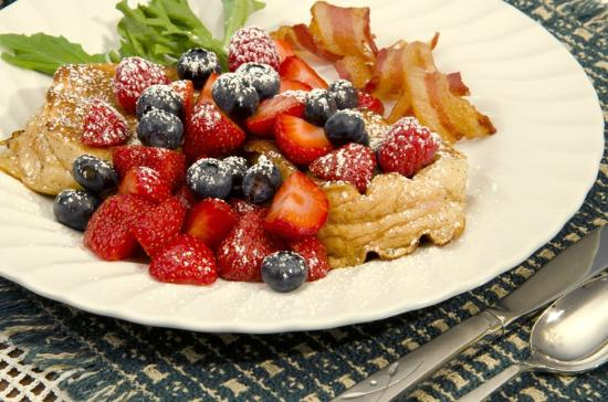 Canyon Road Inn Bed & Breakfast: Sumptuous  Breakfast