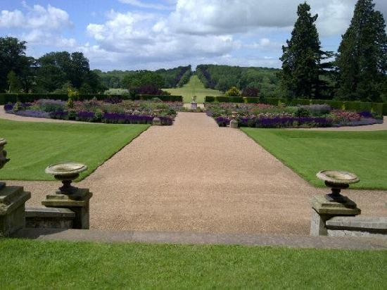 Ragley Hall, Park and Gardens: ragley Hall Rose Garden
