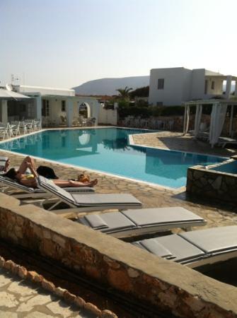 Minois Village: piscine d'eau de mer